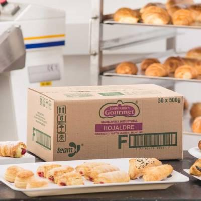 Margarinas y Grasas - Margarina hojaldre gourmet x15 kg