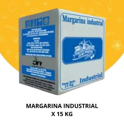 Margarinas y Grasas - Margarina industrial x 15 kg Coopasan