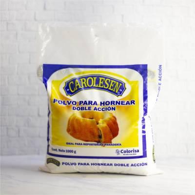 Almidones y Mejoradores - Polvo para hornear x 1kg Carolensen