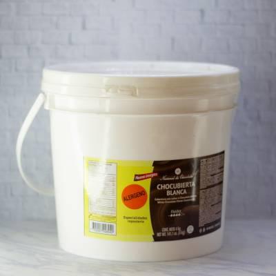 Endulzantes y Coberturas - Chococubierta Blanca x 4GM Nacional de chocolate