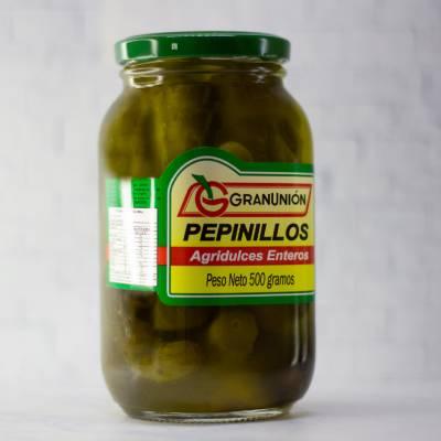 Conservas y Enlatados - Pepinillo Agridulce x 500 gr Gran Union