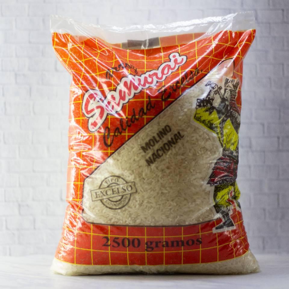 Granos y Cremas - Arroz Samurai x2.5 KGM