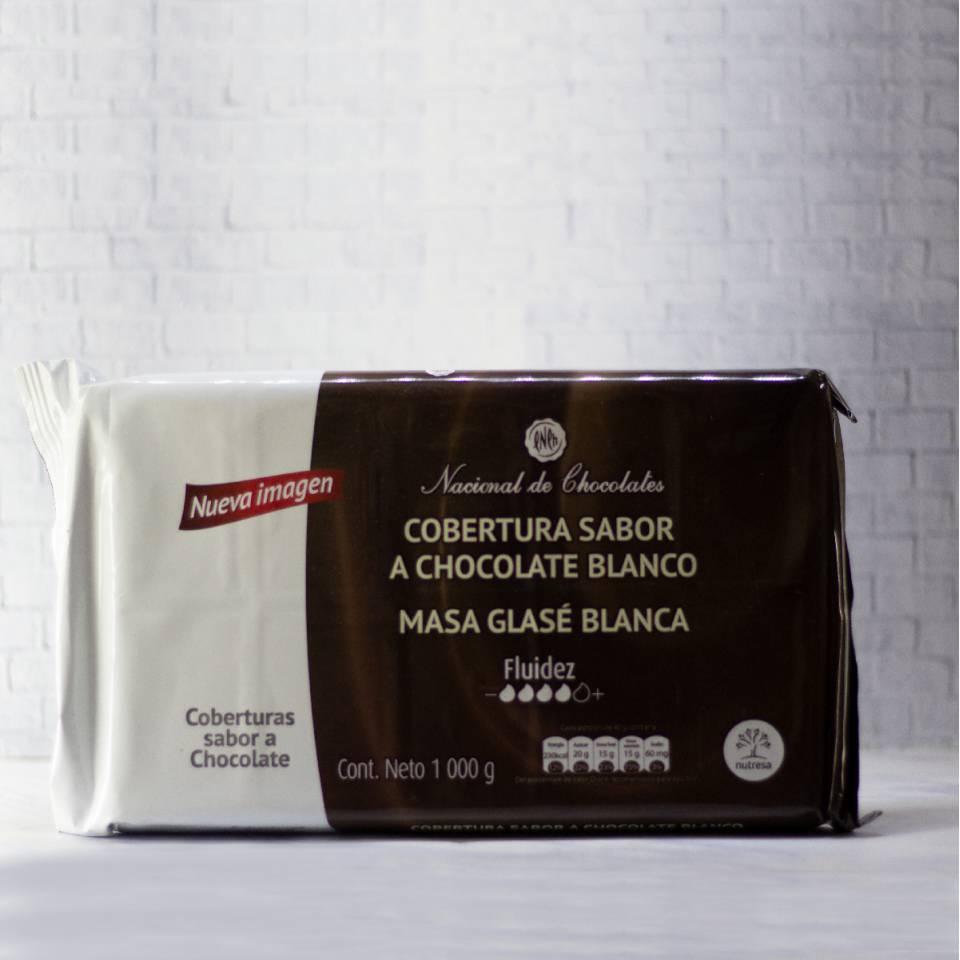 Endulzantes y Coberturas - Cobertura blanca masa glass? tableta x1 kg