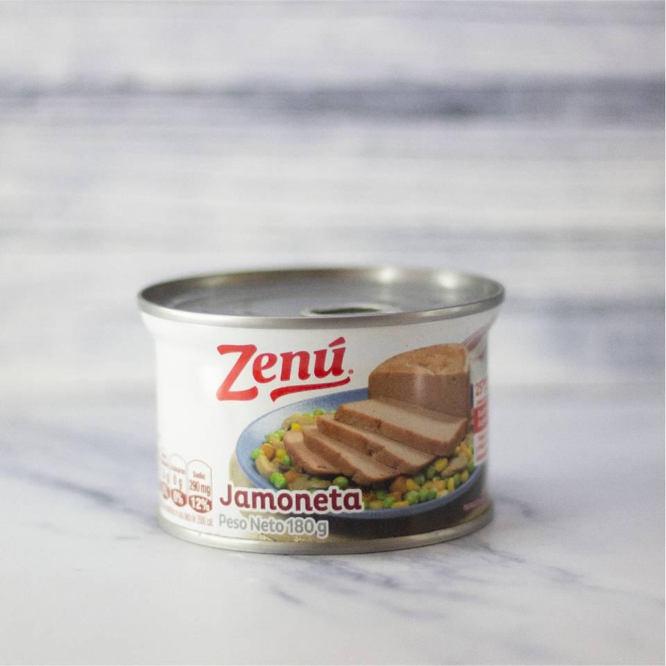 Conservas y Enlatados - Jamoneta Zenu 180 GRM